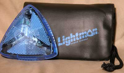 Lightman personal strobe light